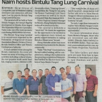 Naim hosts Bintulu Tang Lung Carnival