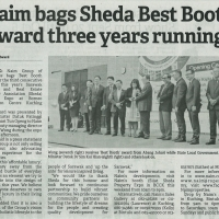Naim bags Sheda Best Booth Award three years running