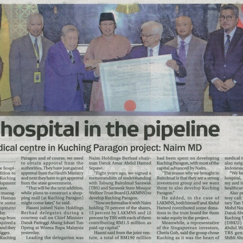 New Hospital in the Pipeline